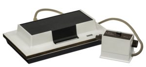 "In 1972 ""Magnavox Odyssey"" was published - the first home console what is the game riddlesnow.com"
