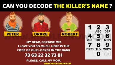 decode the killers name riddlesnow.com