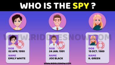 WHO IS THE SPY RIDDLESNOW.COM RIDDLES FOR FRIENDS