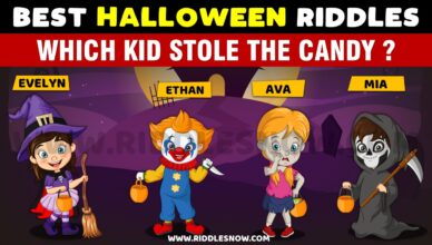 WHICH KID STOLE THE CANDY? RIDDLESNOW.COM