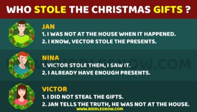 WHO STOLE THE CHRISTMAS GIFTS RIDDLESNOW.COM Christmas Riddles For kids And Adults